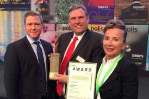 Timo Herzberg (Signature Capital), Dr. Rolf Volmerig (Economic Development) and Yvonne von Salm (Chapman Taylor)